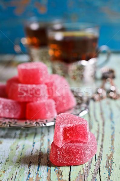 Candy pink jelly Stock photo © zia_shusha