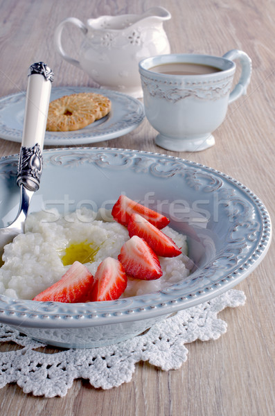 Rice pudding Stock photo © zia_shusha