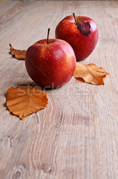 Red apples Stock photo © zia_shusha