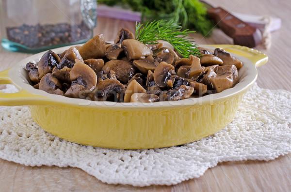 mushrooms Stock photo © zia_shusha