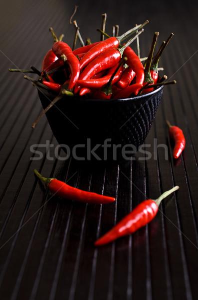 Cayenne pepper Stock photo © zia_shusha