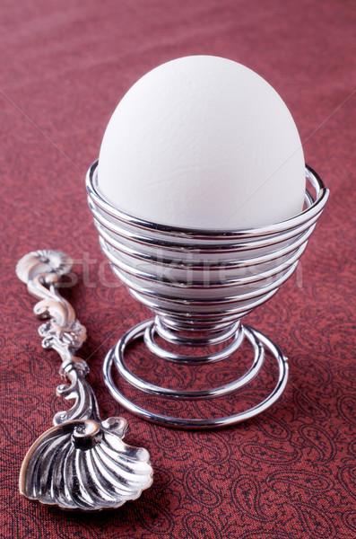 White egg Stock photo © zia_shusha