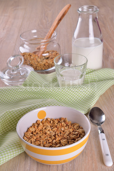 Granola cereal made  Stock photo © zia_shusha
