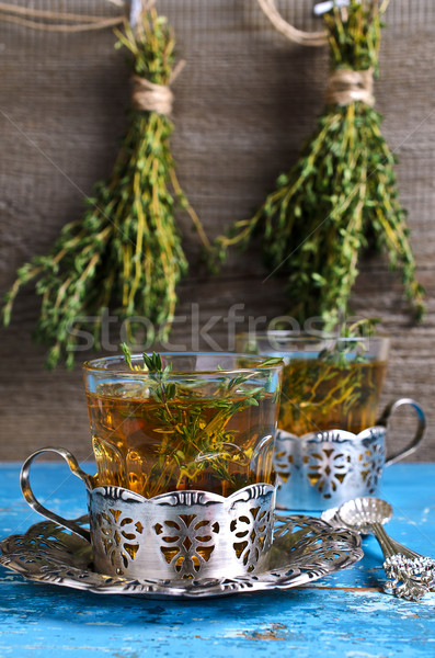 Tea with thyme Stock photo © zia_shusha
