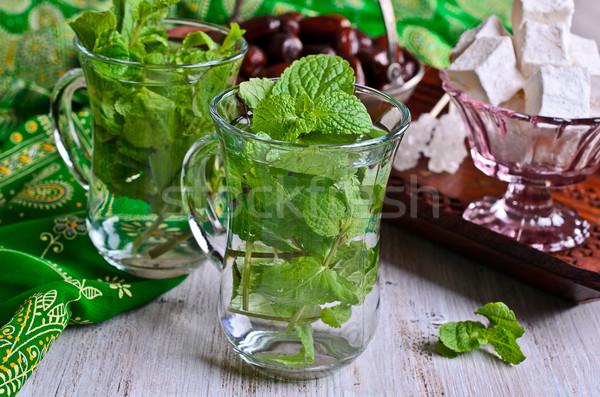 Tea with mint Stock photo © zia_shusha