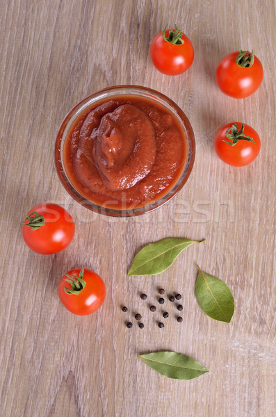 Tomato sauce Stock photo © zia_shusha
