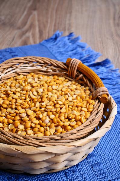 幹 黃色 豌豆 種子 乾燥 商業照片 © zia_shusha