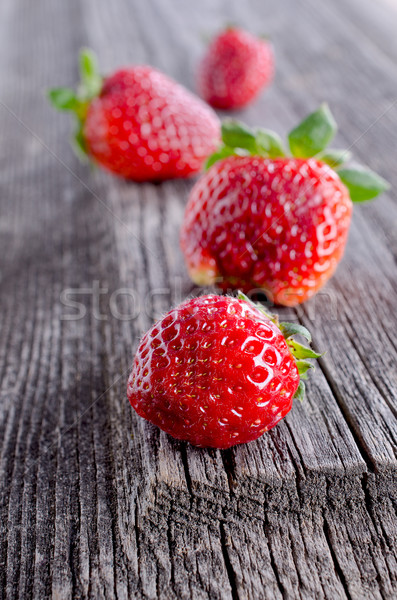 strawberries Stock photo © zia_shusha
