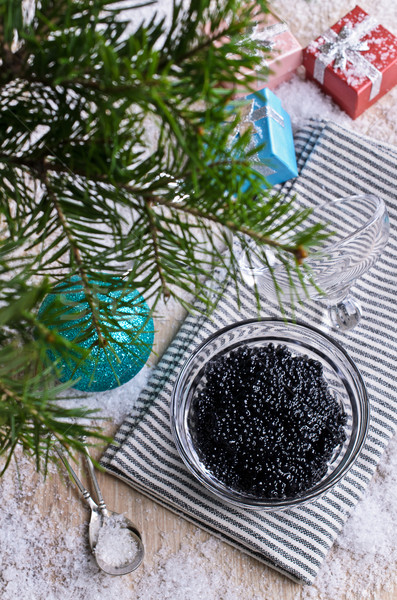 Caviar black Stock photo © zia_shusha