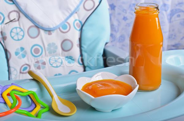 Puree bright orange  Stock photo © zia_shusha