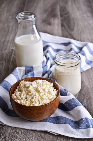 dairy products Stock photo © zia_shusha