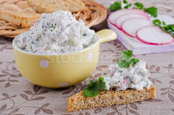 cream cheese Stock photo © zia_shusha