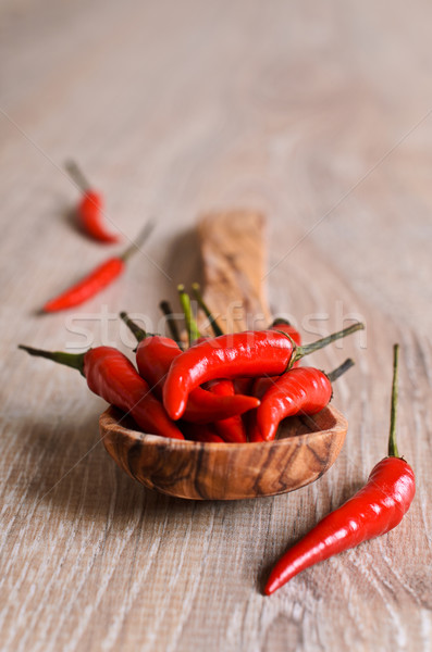 Cayenne pepper Stock photo © zia_shusha