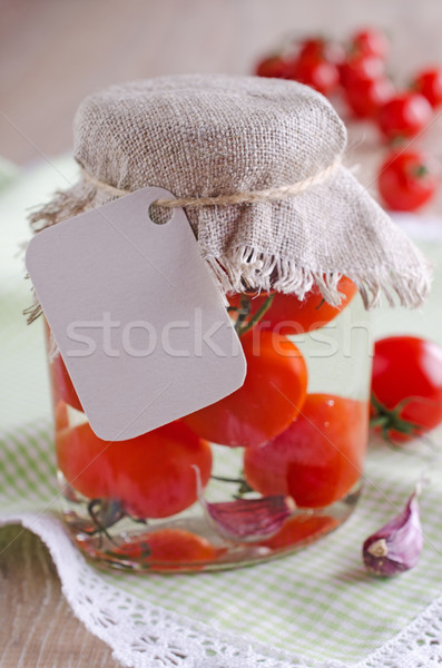 canned tomatoes Stock photo © zia_shusha