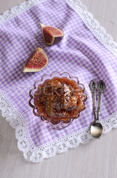 Fig jam Stock photo © zia_shusha