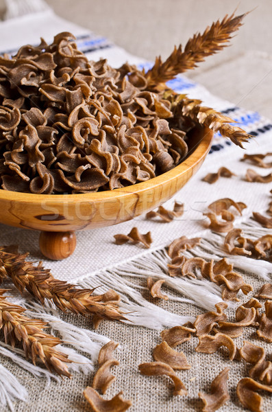 Pasta brown Stock photo © zia_shusha
