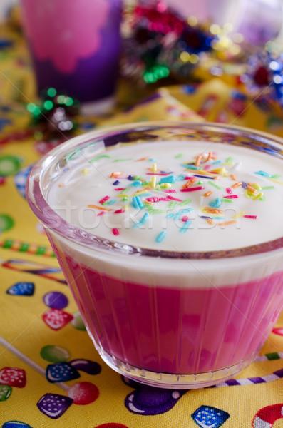 pink dessert Stock photo © zia_shusha