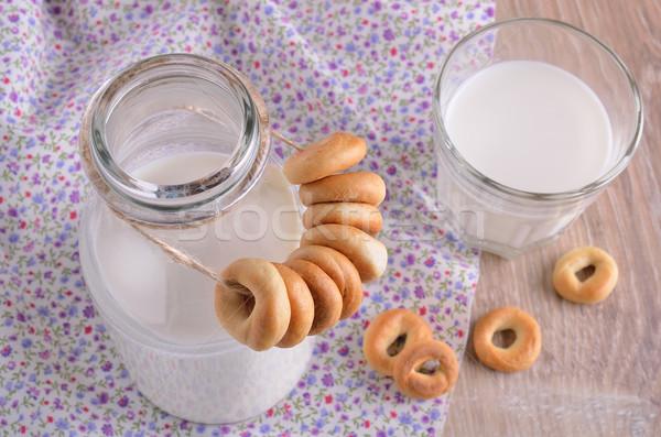 Small bagels  Stock photo © zia_shusha