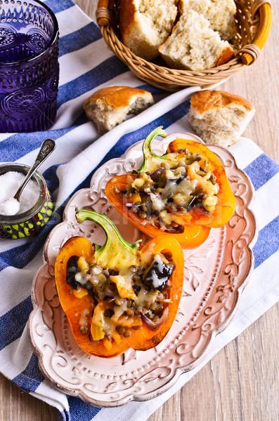 野菜 パプリカ チーズ ストックフォト © zia_shusha