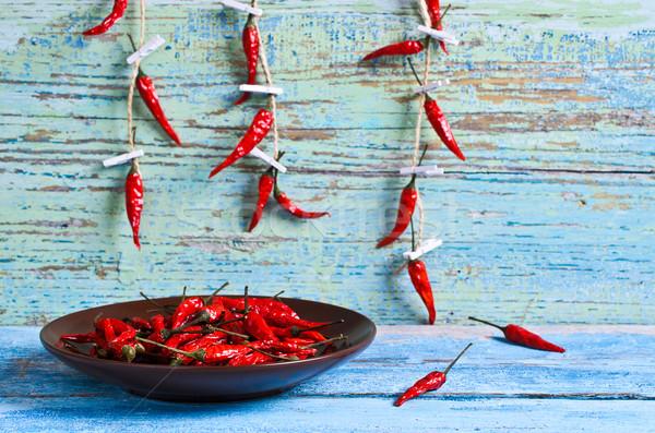 Dried red pepper Stock photo © zia_shusha