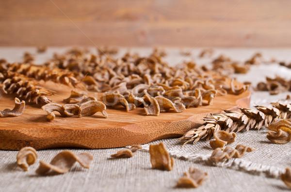 Pasta brown Stock photo © zia_shusha