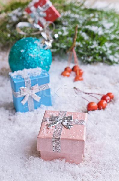 Christmas card  Stock photo © zia_shusha