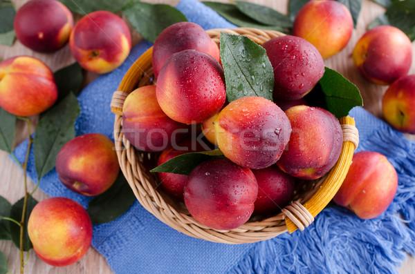 nectarines Stock photo © zia_shusha