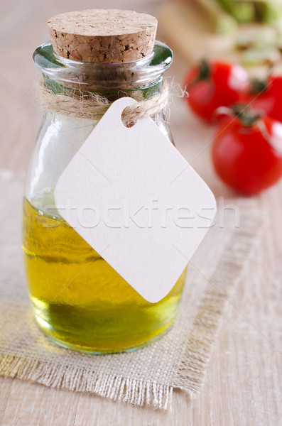 Óleo membro enforcamento amarelo transparente líquido Foto stock © zia_shusha