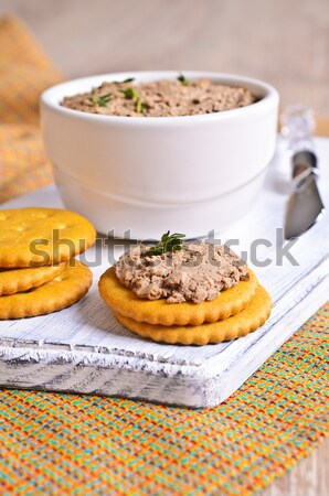 Liver pate Stock photo © zia_shusha