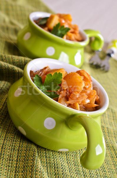 Steamed vegetable  Stock photo © zia_shusha