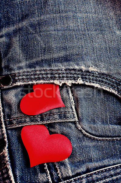 Background of denim Stock photo © zia_shusha