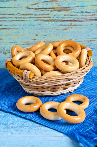 Small bagels Stock photo © zia_shusha