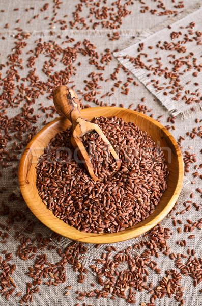 Brown rice Stock photo © zia_shusha