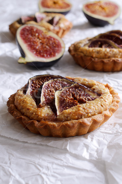 Tart with figs Stock photo © zia_shusha