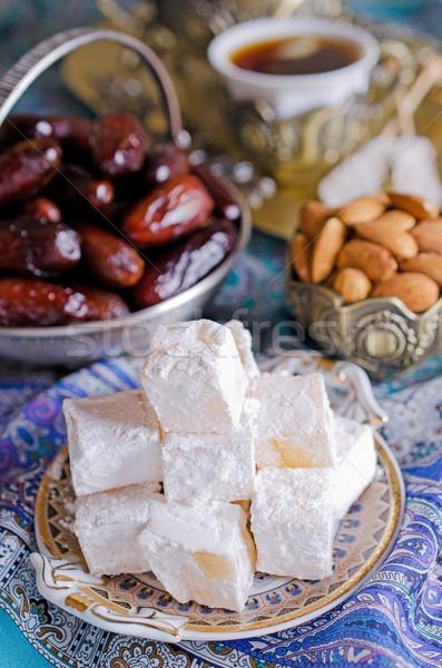 Török öröm hagyományos tea buli arab Stock fotó © zia_shusha