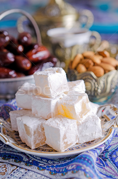 Traditionnel thé fête arabe Photo stock © zia_shusha