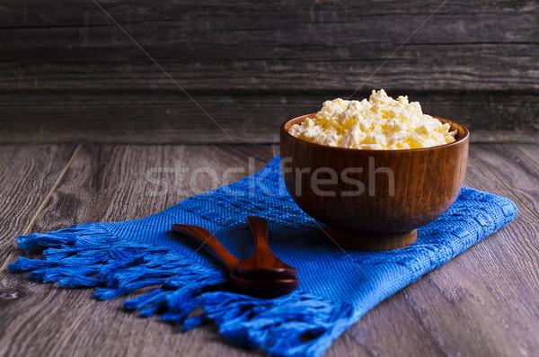 granular cheese Stock photo © zia_shusha