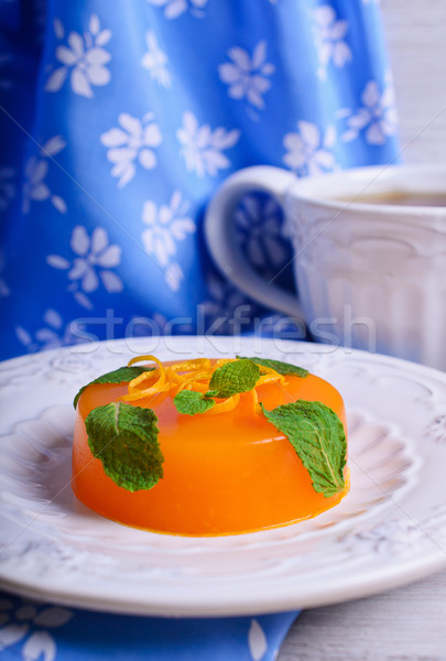 Jelly orange Stock photo © zia_shusha