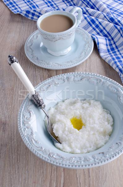 Rice pudding Stock photo © zia_shusha