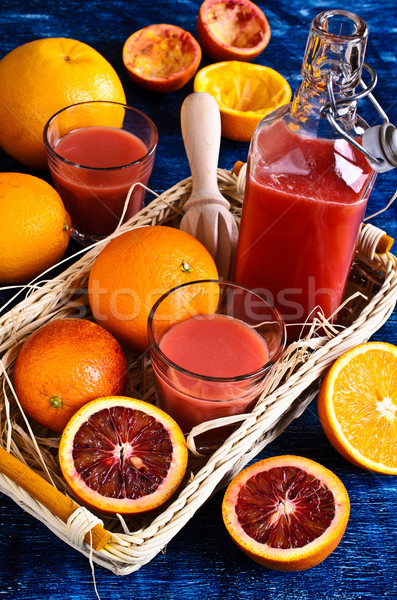 Suco cítrico frutas vermelho laranja laranjas Foto stock © zia_shusha