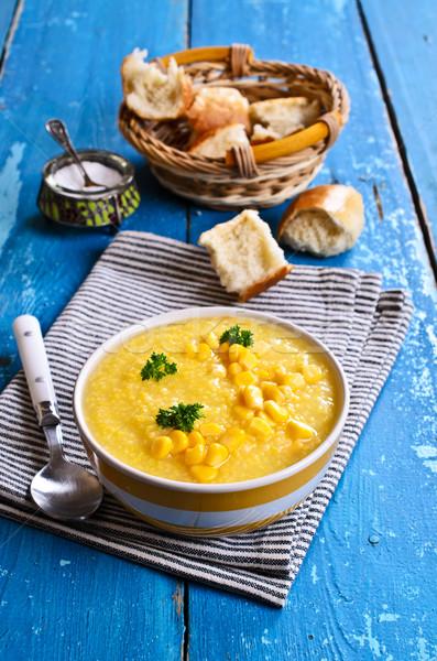 Corn soup Stock photo © zia_shusha