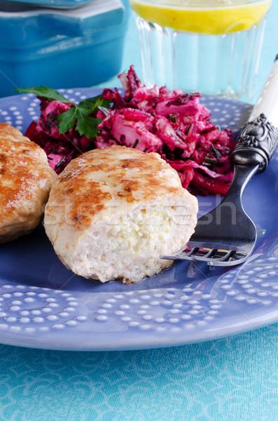 meat patties Stock photo © zia_shusha