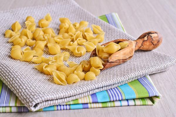 pasta shells Stock photo © zia_shusha