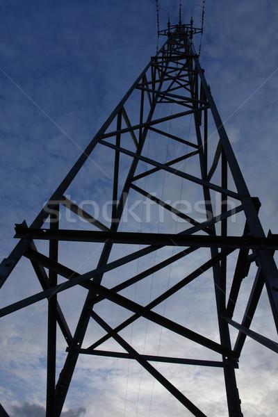 Foto stock: Energía · red · primavera · tecnología · verano · industria