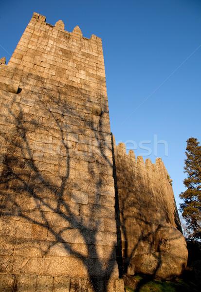 замок домой первый царя место Португалия Сток-фото © zittto