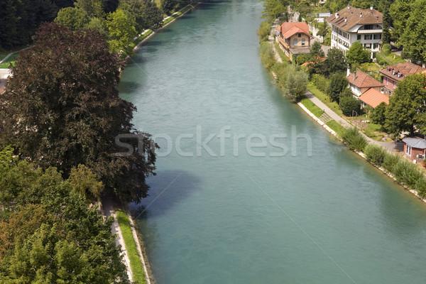 Bern river Stock photo © zittto