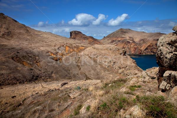 Madeira ünlü muhteşem yer yürüyüş ada Stok fotoğraf © zittto