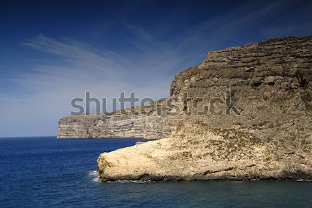 Stock fotó: Tengerparti · Málta · sziget · kilátás · tengerpart · természet