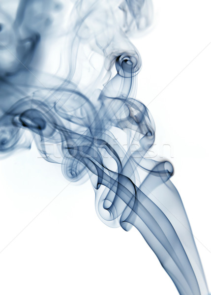 blue smoke Stock photo © zittto