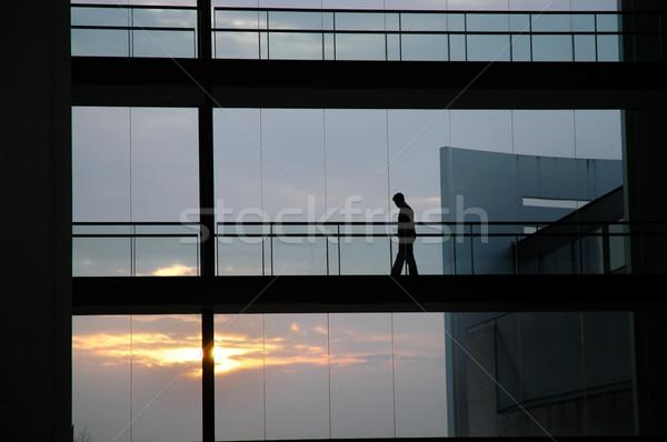 silhouette Stock photo © zittto